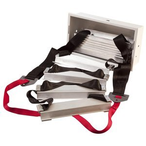 Werner ESC220 Fire Escape Ladder, Two Story