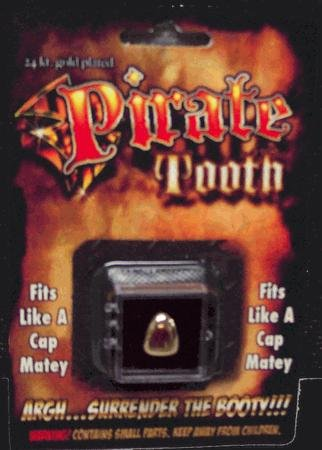 [Billy Bob Teeth 10047 Pirate Tooth Fake Teeth] (Buffalo Bob Costume)