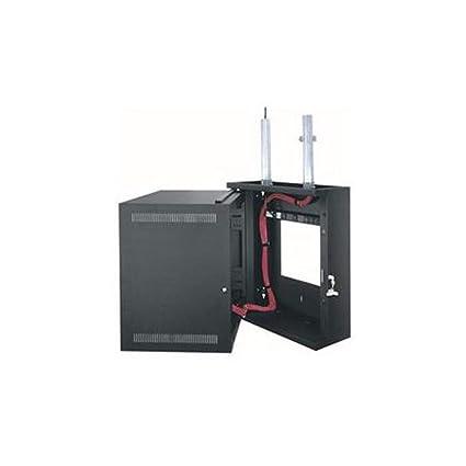 Amazon com: EWR Series Wall Cabinet with Solid Door Rack