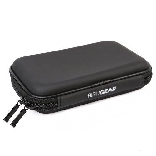 BIRUGEAR Hard Shell Carrying Case for Seagate Backup Plus Slim/Ultra Slim, Slim for Mac, GoFlex Pro/GoFlex Satellite Mobile Wireless 2.5-Inch Portable External Hard Disk Drive - Black