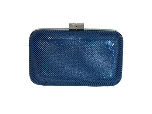 Navy Hard Clutch Women's Davis amp; Whiting wOq4aXT