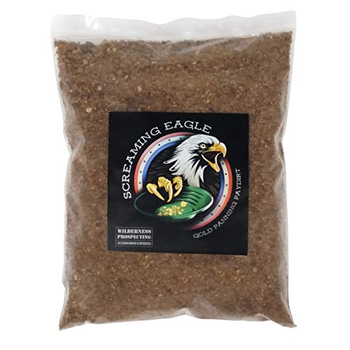 wilderness prospecting Screaming Eagle Gold panning paydirt