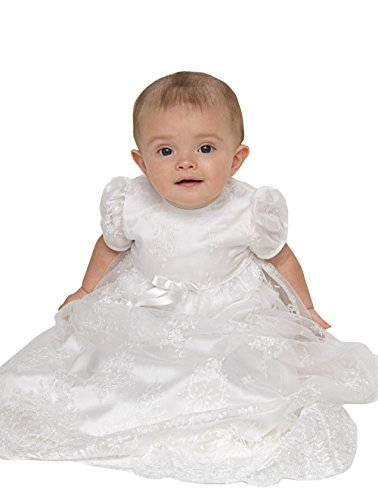 kelaixiang Baby Girls Dresses Christening Baptism Gowns Formal Dress by kelaixiang