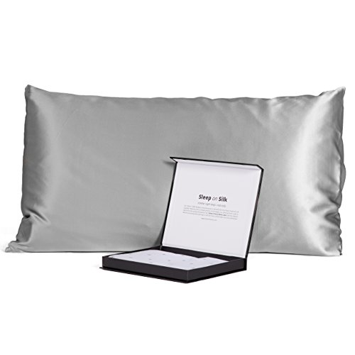 Mulberry Pillowcase Opulence Collection Silver product image