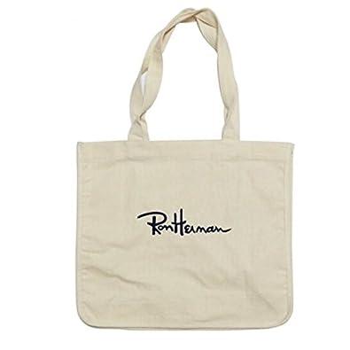 ロンハーマン トートバッグ トート Ron Herman totebag キャンバス 人気刺繍ロゴ入り セレブ ユニセックス