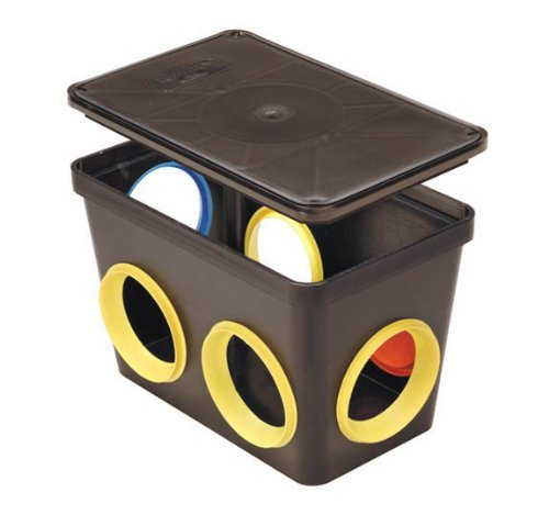 Tuf-Tite 6-Hole Distribution Box With Fittings (For 4 inch Pipe) by Tuf-Tite
