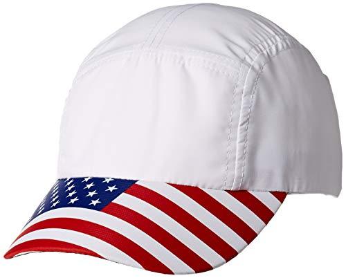 (Headsweats Performance Race Hat, USA Flag, One Size)