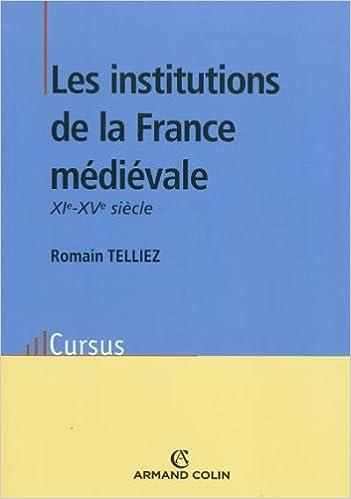 Livres gratuits en ligne Les institutions de la France médiévale epub pdf
