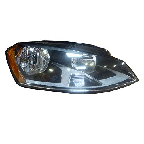 For 2014 2015 2016 2017 Volkswagen Golf | Gti Headlight Headlamp Assembly Passenger Right Side Replacement VW2503160