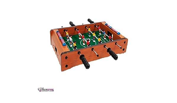 Futbolín de mesa de madera: Amazon.es: Jardín