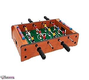 Futbolín de mesa de madera
