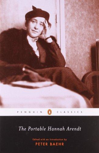 The Portable Hannah Arendt (Penguin Classics)