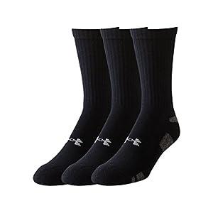 Under Armour Men's HeatGear Crew Socks (3 Pack)