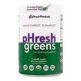 Best Green Superfood Powders - pHresh greens Organic Raw Alkalizing Superfood Greens Powder Review
