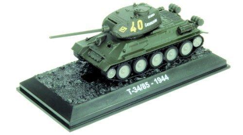 T-34/85 - 1944 tank diecast 1:72 model (Amercom BG-30) from T-34/85 1945 diecast model tank