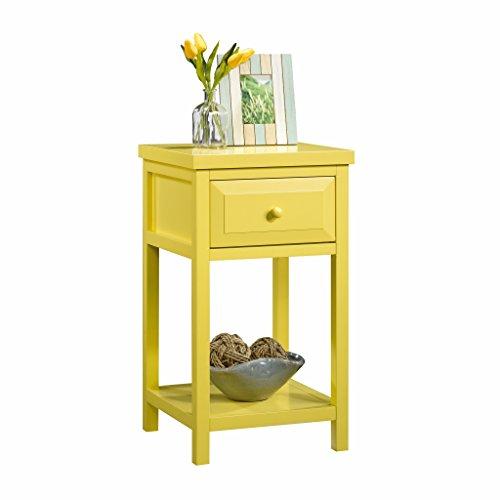 Sauder 420137 Side Table, Yellow Pantone