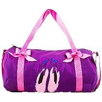 Ballet Duffle Bag Ballerina Dance Pink Ballet Slippers - 13