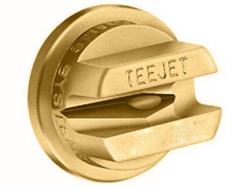 TeeJet OC-04 Off-Center Spray Tip, 0.35-0.49 GPM, 30-60 psi, Brass - Gold ()