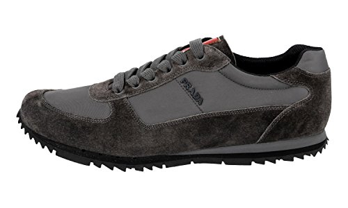 largest supplier Prada Men's 4E2721 OQT F0207 Leather Trainers/Sneaker buy cheap sale big sale online release dates for sale 1TiMK8dIm9