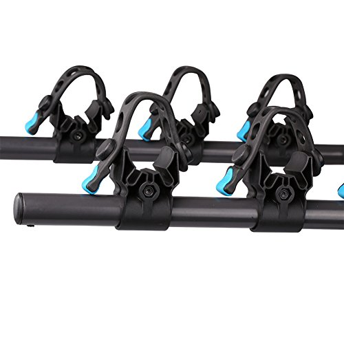 IKURAM 3-Bike Hitch Mount Bicycle Rack Foldable Fit 2 Inch Hitch Receiver by IKURAM (Image #3)