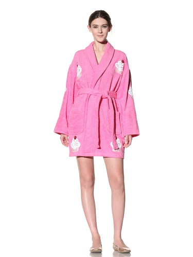 Aegean Apparel Sprinkles Appliqued Bathrobe product image