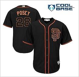new concept 275e3 b0d9a Amazon.com: Buster Posey San Francisco Giants #28 MLB Men's ...