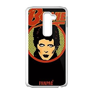 LG G2 Cell Phone Case White David Bowie MZL Plastic Fashion Phone Case