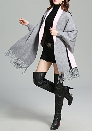 PLAER - Cárdigan - para mujer gris