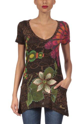 Desigual Women's T-shirt Short Sleeve 29t2410 Enteleckia