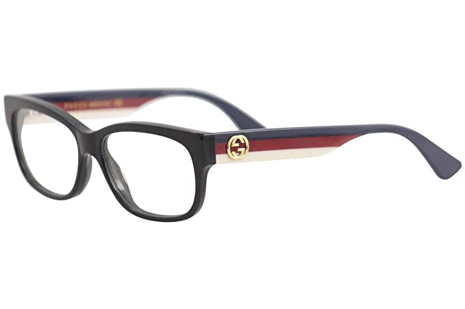 Amazon.com: Gucci GG 0278O 001 - Gafas rectangulares ...