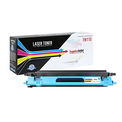 SuppliesOutlet Brother TN115C Compatible Cyan Toner Cartridge for Brother MFC-9440cn, Brother MFC 9840cdw