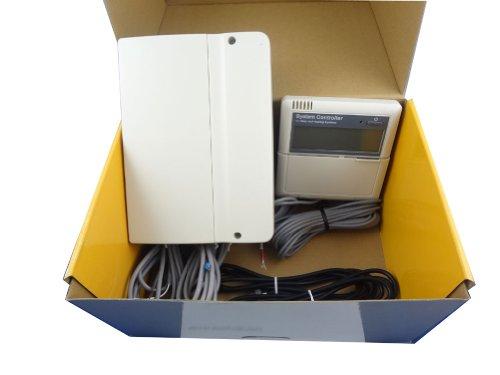 MISOL CONTROLLER of SOLAR WATER HEATER / 5 SENSORS / 110V / for Split Pressurized Solar Water Heater