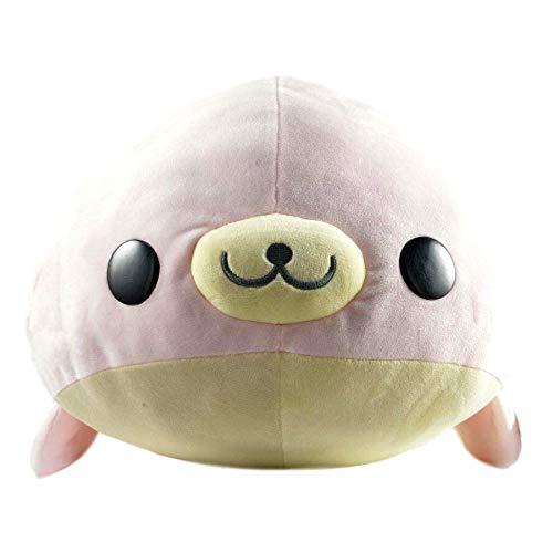 (San X Pink Mamegoma Plush Seal 22 Inch, Super Soft )