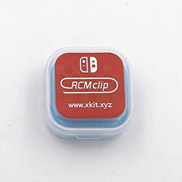 T003RCM Clip de plástico de la Herramienta de Plantilla de Modo de recuperación de Cortocircuito para Nintendo Switch RCM/NS SX Herramientas de Cortocircuito de OS DN Papel: Amazon.es: Electrónica