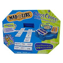 Mad Libs Criss Cross Board Game