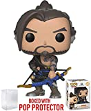 Funko Pop! Games: Overwatch - Hanzo Vinyl Figure (Bundled with Pop Box Protector Case)