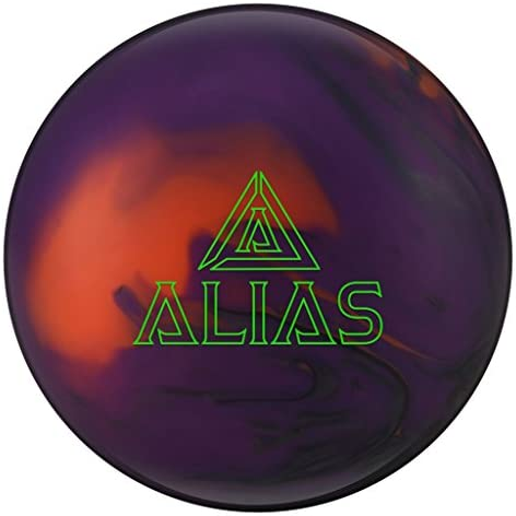 Track Alias Bowling Ball- Smoke Purple Orange