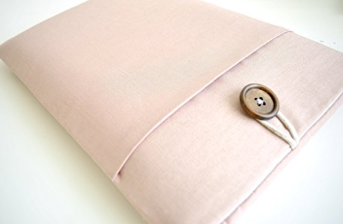 Blush-Pink-MacBook-Sleeve-Case-Custom-Sized-for-Any-Laptop-101-11-116-12-13-133-15-156-inch