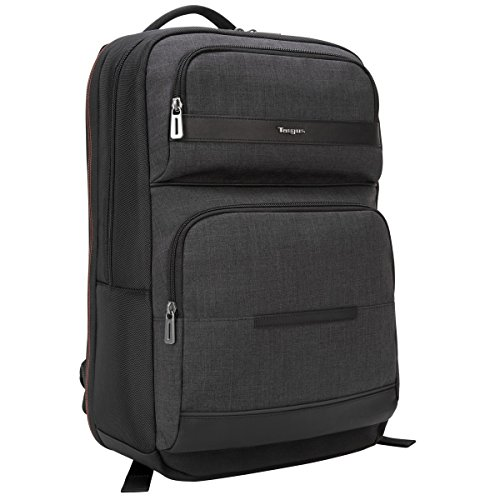 Targus CitySmart Advanced Checkpoint-Friendly Backpack for 15.6-Inch Laptop, Gray (TSB894)