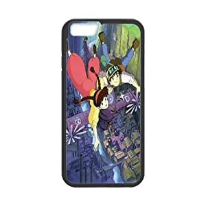 T-TGL(RQ) DIY Castle in the Sky Pattern Protective Durable Back Case for Iphone6 Plus 5.5""