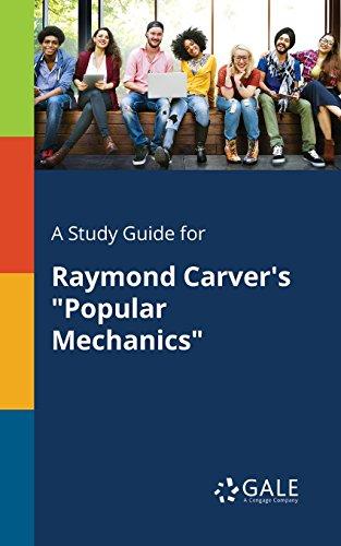 popular mechanics by raymond carver summary