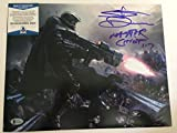 Steve Downes autographed 11x14 Photograph Microsoft XBox Halo Master Chief Voice Actor Beckett