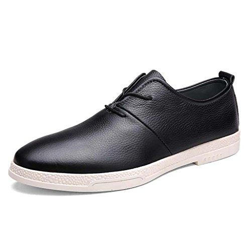 ZXCV Zapatos al aire libre Los zapatos de los hombres calzan los zapatos sólidos de los deportes al aire libre de los zapatos ocasionales Negro