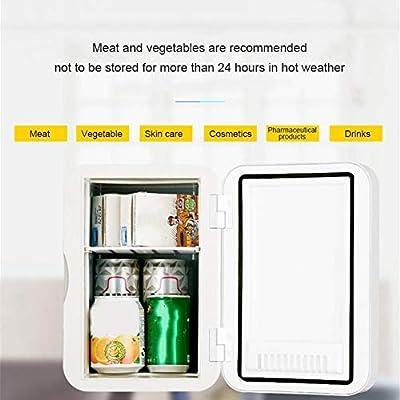 urbenlife Mini Refrigerador Y Calentador De 6 litros De Litro ...