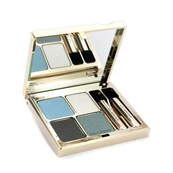 Clarins Eye Quartet Mineral Palette Long Lasting Eye Shadow, 08 Blue Sky, 0.2 Ounce (Quartet Color Eyes Clarins For)