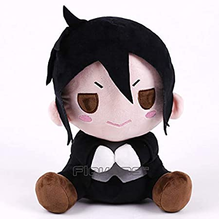 Amazon.com: GrandToyZone DOLL SERIES - 30cm (11.8 inch) Black Butler Plush Doll 2 Style (Ciel & Sebastian) (B): Toys & Games