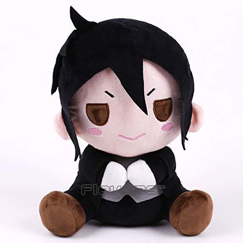 (GrandToyZone DOLL SERIES - 30cm (11.8 inch) Black Butler Plush Doll 2 Style (Ciel & Sebastian))
