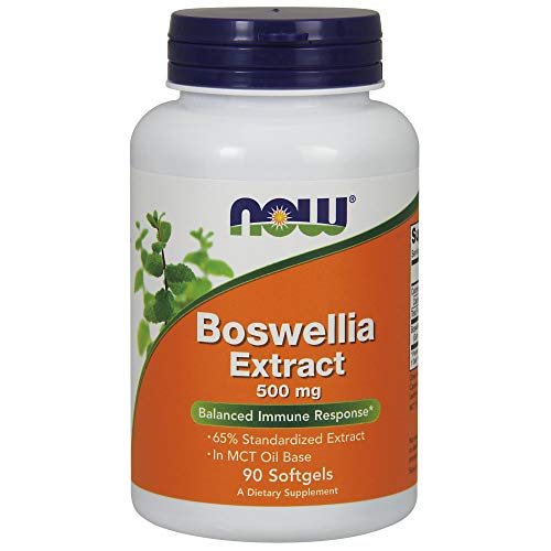 NOW Supplements, Boswellia Extract 500 mg, 90 Softgels ()
