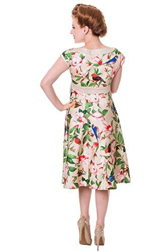 Banned Apparel - Robe - Femme Beige Beige