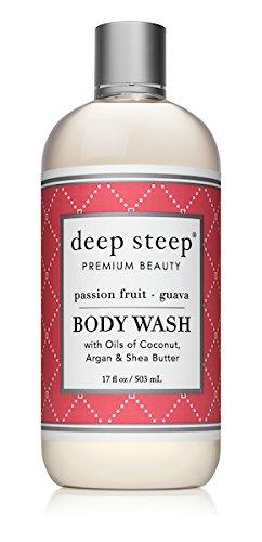(Deep Steep Argan Oil Body Wash, Passion Fruit Guava, 17 Ounce)